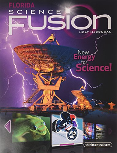 Holt Mcdougal Science Fusion Florida Student Edition Interactive Worktext Grade 6 2012
