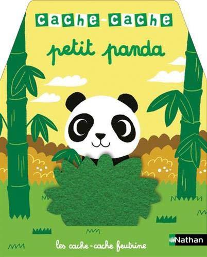 Cache-cache - Petit panda - Livre à toucher pour les...