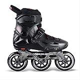STBB Rollschuhe Original Speed Speed Inline Skates Street Erwachsene Rollschuhschuhe Skating 35 Schwarz