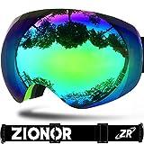 ZIONOR Lagopus X10 Telaio / Senza Cornice Snowboard Occhiali da...