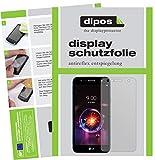 dipos I 2X Schutzfolie matt kompatibel mit LG X Power 3 Folie Bildschirmschutzfolie