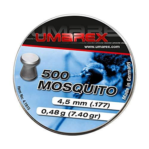 Umarex Mosquito Premium Flachkopf-Diabolo 4,5mm Luftgewehrkugeln Diabolos für Luftdruckwaffen, Luftgewehr und Luftpistole Preiswerte Trainingsmunition von Eva Shop