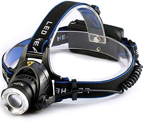 Popular LED Headlamp Free Shipping New Dropshippingpowerful Water Headlights Zoom