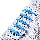 HICKIES Lacets Sans Attaches (2.0 Nouveau) - Bleu électrique