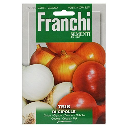 Seeds of Italy Ltd Franchi - Semi, tris di cipolle