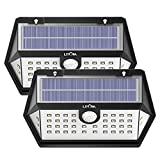 LITOM Solar Lights Outdoor, 40 LED Wireless Wide Angle Motion Sensor Light, IP65