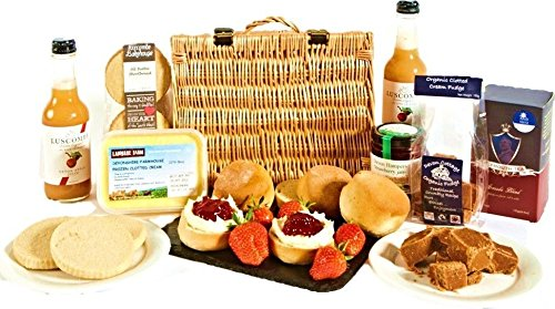 Cream Tea Hamper - Family Size from Devon