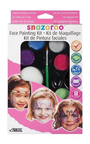 GIRLS FACE PAINTING KIT / GIRLS MAKEUP - (MULTICOLOUR)
