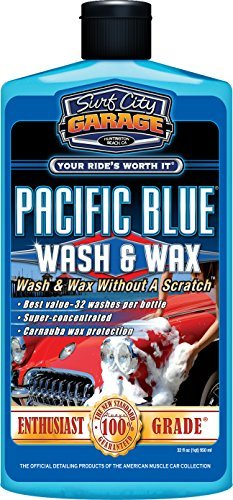 Surf City Garage 151 Pacific Blue Wash and Wax - 32 oz. by Surf City Garage