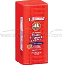 product image for Tillamook Sharp Cheddar Cheese, 2 Pound -- 6 per case.