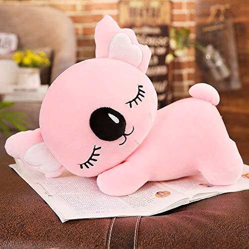 Almohada de Navidad, idea de regalo para niños, peluche, peluche, peluche, peluche, peluche, decoración para habitación de niña, niño, grande, koala XXL, color rosa, 50 cm