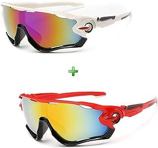 Óculos Esportivo Bike Ciclismo Espelhado Kit 2 Unidades