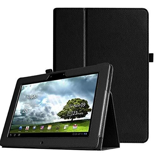Für Asus Memo Pad Fhd 10 ME301T ME302 ME302C ME302KL 10,1-Zoll-Tablet-Lederhülle-Schwarz