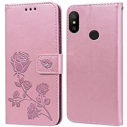 Hülle für Xiaomi Mi A2 Lite,Handyhülle für Xiaomi Mi A2 Lite,Klappbar Tasche Hülle,Standfunktion,Kartenfach,Silikon Bumper,Stoßfeste Schutzhülle Cover für Xiaomi Mi A2 Lite(5.84