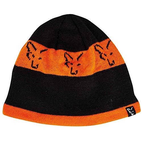 Fox Black Orange Beanie CPR993 Beanie Hat Wintermütze Mütze