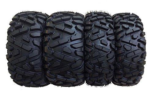 Set of 4 WANDA ATV/UTV Tires 25X8-12 25X10-12 for 2005-2014 HONDA FOREMAN 500