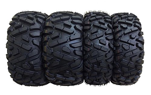 Set of 4 WANDA ATV/UTV Tires 25X8-12 25X10-12 for 2005-2014 HONDA FOREMAN 500