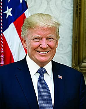 Donald Trump Official Presidential Portrait (Photo Sizes 8x10, 11x14 or 20x24 Poster