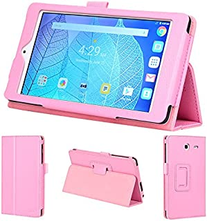 wisers 2016 ALCATEL ONETOUCH POP 7 LTE 7-inch Tablet case/Cover, Light Pink