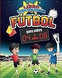 Libro para Colorear : Fútbol   Para niños : 4 a 8 años: 2