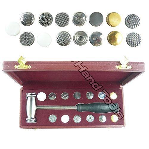 PTL - Prestige Textur Hammer with 15 austauschbaren Texturen / Juwelier Werkzeug #1678