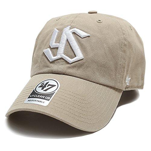 [フォーティセブン] 帽子 47 キャップ ヤクルトスワローズ 公式 グッズ 47brand RGW10GWS カーキ