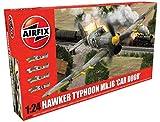 Airfix- Kit de modelismo, avión Hawker Typhoon MK1B Early (Hornby A19003) , color/modelo surtido