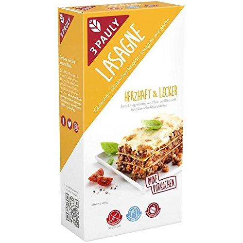 3 Pauly Lasagne glutenfrei - 250g