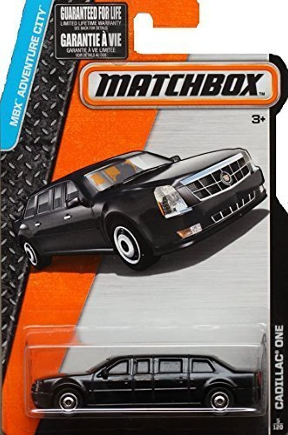 Matchbox 2015 MBX Adventure City 5 120  The Beast Cadillac One Limo Presidential Limousine by Matchbox