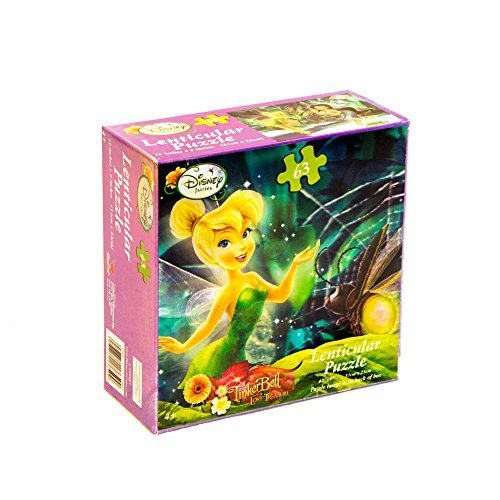 Disneys Fairies Lenticular Puzzle (1) Party Supplies by UPD