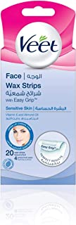Veet Cold Wax Strips Face 20