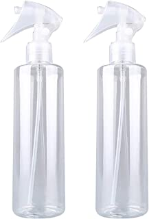 200ml Empty Spray Bottle Refillable Sprayer Water Bottle Refillable Container for Cleaning Essential Oils Pack of 2
