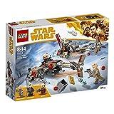 LEGO Star Wars - Cloud Rider Swoop Bikes, Juguete de Construcción de La Guerra de las Galaxias para Niños y Niñas de 8 a 14 Años, Incluye Nave y Minifiguras (75215)