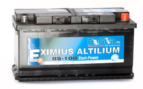 Autobatterie 12 V 100 Ah BS-100 Starterbatterie für PKW