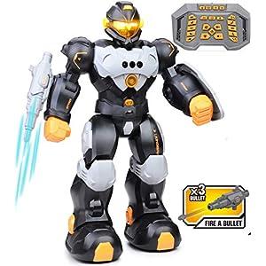 RC Robot Toy for Kids, Smart Intelligent Programmable Remote Control Robots Gesture Sensing Singing Walking Dancing…