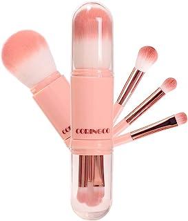 赞助广告- COLINCO 化妆刷 便携 刷子 化妆笔 套装 便携 胶囊 棉 糖果色 胶囊 化妆刷 套装 Coringco Cotten Candy Capsule Brush 1SET(4pcs)