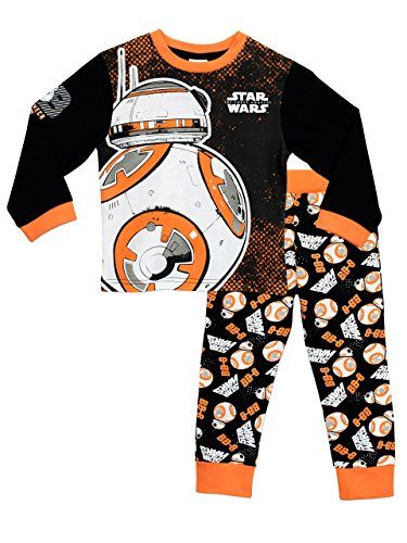 Star Wars Pijamas para Niños BB8 Multicolor 3-4 años