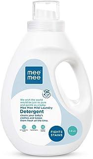 Mee Mee Mild Baby Liquid Laundry Detergent, 1.5 Litre Bottle