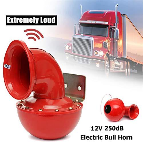 Altavoz eléctrica 250DB Red eléctrica de Toro 12V Cuerno de Aire Que...