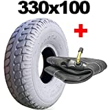 4.00-5 (330x100) TYRE AND TUBE MOBILITY SCOOTER 400-5 330 100