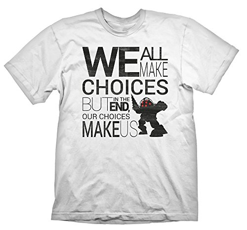 Bioshock T-Shirt Quote Vintage, XXL