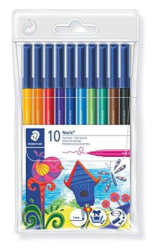 Staedler 326 WP10 - Estuche con 10 rotuladores, Multicolor