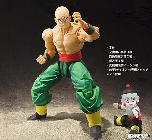 CXNY Anime Dragon Ball Z Tien Shinhan y Chiaotzu Joint PVC movible Figura de accion Coleccion Modelo Ninos Toy Doll 16cm