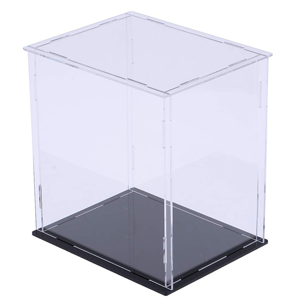 sharprepublic Estuche Caja de Acrílico Claro para Figuras de Acción Exhibición Protección - 15x15x20cm: Amazon.es: Juguetes y juegos