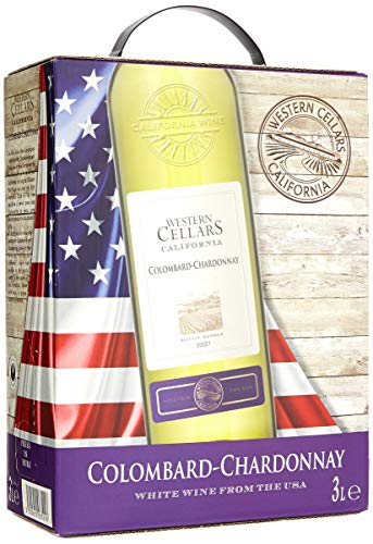 WESTERN CELLAR Colombard Chardonnay Cuvée Trocken 2017/2018 (1 x 3 l)