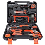 SSCYHT Kit Completo de Herramientas para el hogar con Conjunto de Herramientas manuales portátiles Generales y Accesorios de Bricolaje (Kit de Herramientas para el hogar, la Oficina o el automóvil)