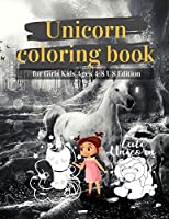 Unicorn Coloring Book For Girls Kids Ages 4-8 Us Edition: Coloring Book Unicorn Animal Cartoon For Boys Toddlers & Teens Or Adult Best Gifts For You With 100 Full Color Pages Vol 3
