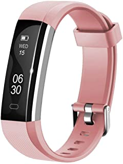 Watch Fashion Activity Tracker, Slim Fitness Tracker, Touchscreen Smart Bracelet with Anti-Lost Strap for Kids, Women and Men