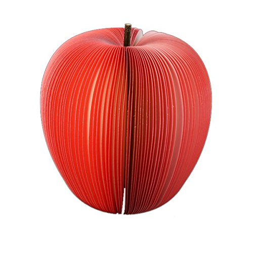 Akord notitieblok in fruit- en groentedesign Red Apple Red Apple