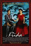 Frida - Salma Hayek – Movie Wall Poster Print – A4 Size